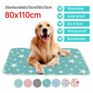 Pet Pee Pads Mats Puppy Training Pads Toilet Wee Cat Dog Supplies Washable Large