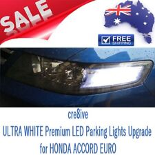 Honda Accord Euro ULTRA WHITE Premium LED Parker Parking lights bulbs Upgrade
