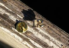 Graduation Year 12 '12 2012 Gold Tone Metal Letterman Jacket Pin Number Pinback