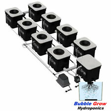 CURRENT CULTURE UC8XL H2O HYDROPONIC SYSTEM COMPLETE RECIRCULATING DWC