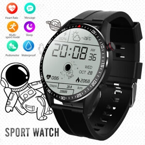 Smartwatch IP67 Fitness Tracker Smart Armband Sport Uhr mit Pulsuhr Blutdruck