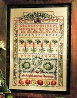 ✔️ Nature's Bounty Harvest Sampler Vegetables Cross Stitch Chart Chart M Barber
