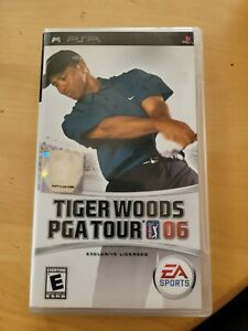 Tiger Woods PGA Tour 06 (Sony PSP, 2005)