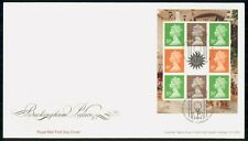 Mayfairstamps Great Britain FDC 2014 Queen Block Buckingham Palace First Day Cov