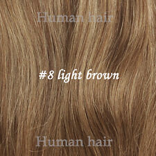 Thick Set Full Head One Piece Clip In Remy Human Hair Extensions 100g 120g 140g