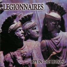 LEGIONNAIRES CD -life in the legion- Oi Skinhead Templars Counterattack Truents