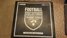 AFL Collectors Trading Cards Album with 46 Cards