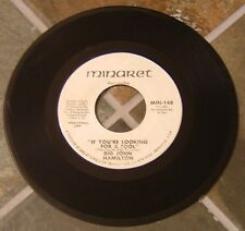 """Northern Soul 45 RPM By Big John Hamilton, """"If You're Looking For A Fool"""" on Min"""