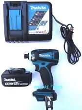 New Makita 18V XDT04 1/4 Impact Driver,1) BL1830 3.0 AH Battery, Charger 18 Volt