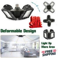 120W LED Garage Light Deformable Ceiling Light 192 LED For Workshop E26 E27 Base