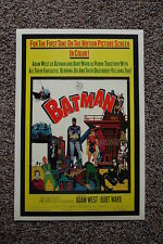 Batman 60s Lobby Card Movie Poster #3 Adam West Burt Ward 12 x 18