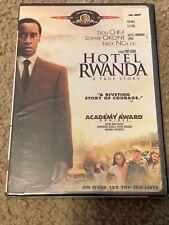 Hotel Rwanda Dvd New Sealed Film Don Cheadle Widescreen