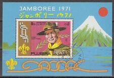 Fujeira 1971 used c.t.o Bl.54 A Pfadfinder Scouts JAMBOREE