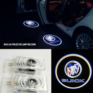 2x LED For Buick LaCrosse Regal Door Courtesy Step Laser Shadow Projector Light