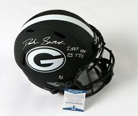 D'ANDRE SWIFT UGA Autograph Eclipse Replica Helmet INSCRIBED Signed BECKETT COA