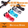 CNC MTB Mountain bike bicycle stem For XC / AM -17 degree 31.8mm * 90mm