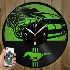 LED Vinyl Clock Ford LED Wall Art Decor Clock Original Gift 3905