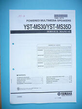 Service Manual for Yamaha YST-MS30/YST-MS35D by long