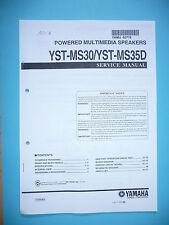 Service Manual für Yamaha YST-MS30/YST-MS35D  von Lange