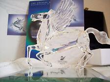 1998 Swarovski Crystal Annual 'PEGASUS' Boxes & COA MINT