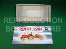 Dinky #310 (27ak) Farm Tractor & Hay Rake - Reproduction Box by DRRB