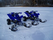 ATV Tires to Polaris Skis Conversion Kit for Yamaha Raptor 700R 660R 350 250 125