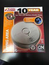 Kidde P3010L Worry-Free Living Area Photoelectric Smoke Alarm /10 YEAR BATTERY!!