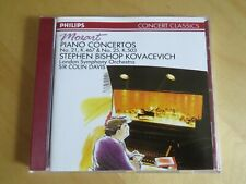 MOZART - Piano Concertos 21 & 25 - CD Album - Stephen Bishop Kovacevich - 1989