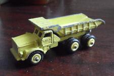 Vintage 1960s Diecast Mini Dinky No 97 Euclid R-40 Dump Truck