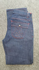 #936 Dolce & Gabbana Mens D016 Dark Blue Denim Jeans, Size 48 (32W 34L)