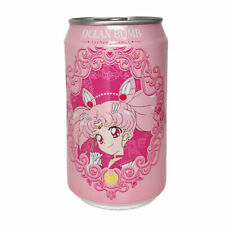 OCEAN BOMB SAILOR MOON SPARKLING WATER - LYCHEE FLAVOUR - 330ML CAN