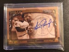 2016 Topps Museum Collection ANDRES GALARRAGA Archival Autographs 5 /5 Auto