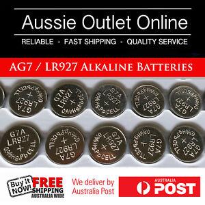 10pcs. AG7/LR927 PK Cell 1.5V Alkaline Batteries - Aussie Outlet Online
