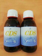 CDS, DIOXIDO DE CLORO.3000ppm,100%DE PUREZA 2 botellas de125cc cada una