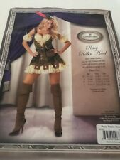 Racy Robin Hood Adult Deluxe Womens Halloween Costume Theatrical Quality