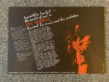 Otis Redding Poster 1967 European Concert Tour