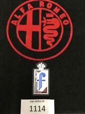 """Emblem para Alfa Romeo Pininfarina """"F"""" plástico con goma bajo situación [1114]"""
