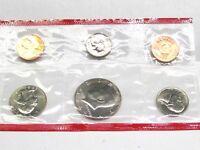 1984 D US Mint Proof Set - 6 coin set icluding Denver Mint Coin