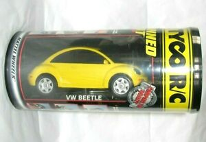 TYCO R/C VW BEETLE 49 MHZ CANNED HEAT RAIDO CONTROL CAR NEW IN CAN L@@K 1999