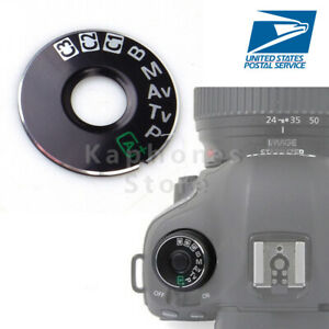 US Dial Mode Plate Interface Cap Replacement Part For Canon EOS 5D Mark III 5D3