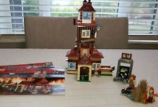 Lego Harry Potter The Burrow 4840 99% complete with 3 minifigs & Manuel's