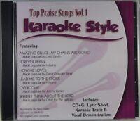 Top Praise Songs Volume 1 Christian Karaoke Style NEW CD+G Daywind 6 Songs