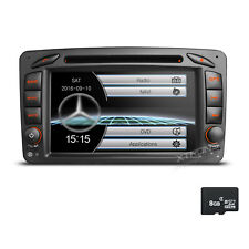 Autoradio GPS Navi CD Mercedes Benz für C/CLK/G Klasse W203 W209 W639 Vito Viano