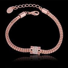 Unbranded Rose Gold Plated 18k Fashion Bracelets