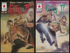 Kato Green Hornet II comic set 1-2 lot Jeet Kune Do Ip Man's student Bruce Lee