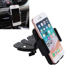 Adjustable Car Holder CD Slot Mount Bracket For Mobile Cell Phone iPhone Samsung