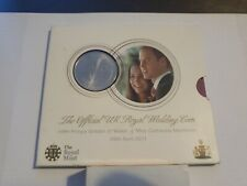 The official UK Royal wedding five pound coin william and Catherine 2011