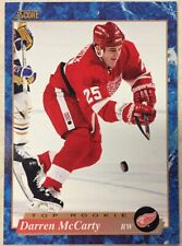 DARREN McCARTY 1993-94 Score Hockey French  #626 Rookie Card RC Red Wings