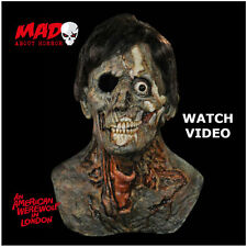 Official American Werewolf in London Latex Mask THEATRE JACK Zombie Halloween