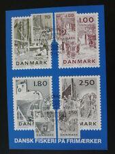 ship boat fishing industry Slania Wipa 1981 maximum card Denmark 54097